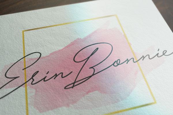 Erin Bonnie Σχεδιασμός Λογοτύπου