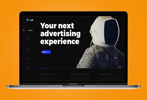 GLB Web Design UI UX