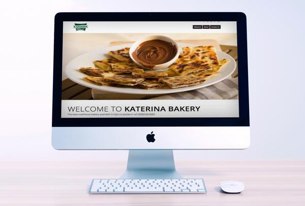 Katerina Bakery Web Design &k Development