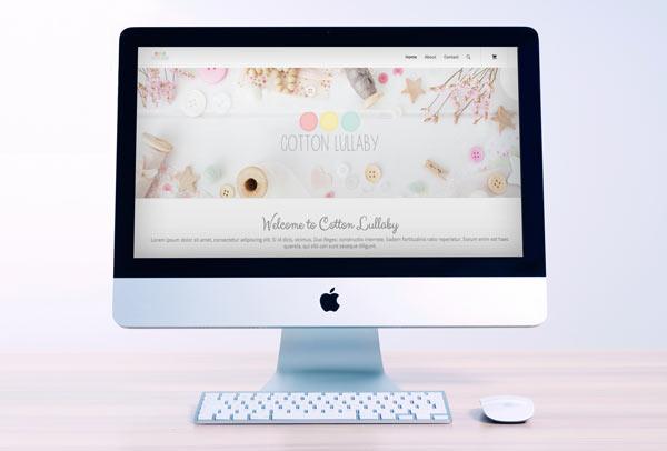Cotton Lullaby Web Design & Development - UI UX