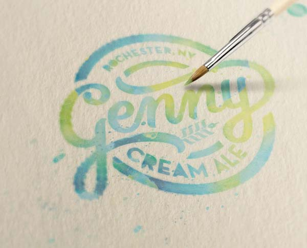 cream-ale-logo-design
