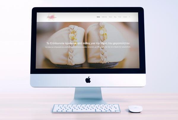 Erin Bonnie Web Design & Development - UI UX