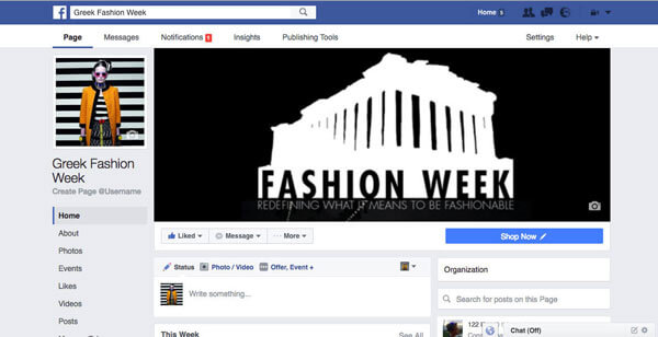 Greek Fashion Week Social Media Marketing - Online Marketing (Google AdWords) - E mail Marketing