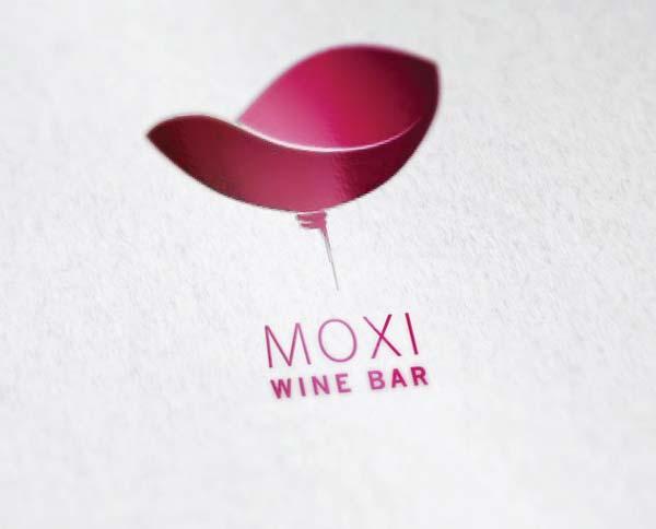 Moxi Wine Bar Σχεδίαση Λογοτύπου
