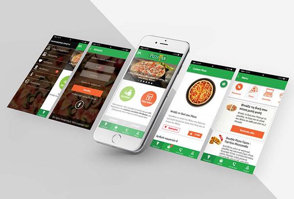 Pizza Fan App Redesign 2017