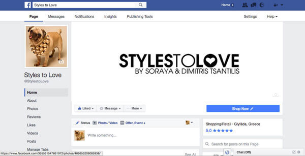 Styles To Love by Tsantilis Social Media Marketing - Online Marketing (Google AdWords) - E mail Marketing