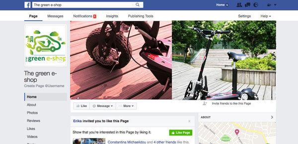 The Green E-shop Social Media Marketing - Online Marketing (Google AdWords) - E mail Marketing