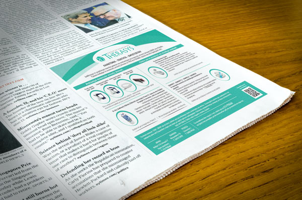 Therasys Medical Graphic Design