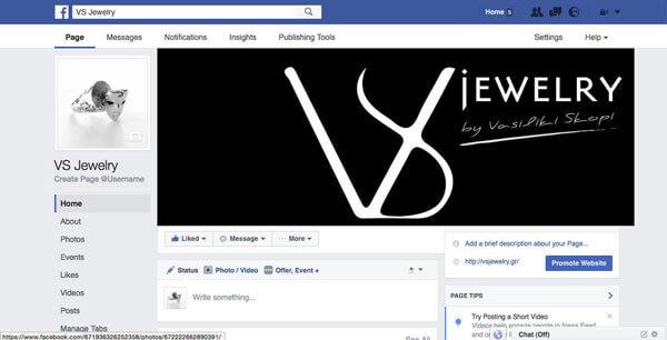 VS Jewelry Social Media Marketing - Online Marketing (Google AdWords) - E mail Marketing