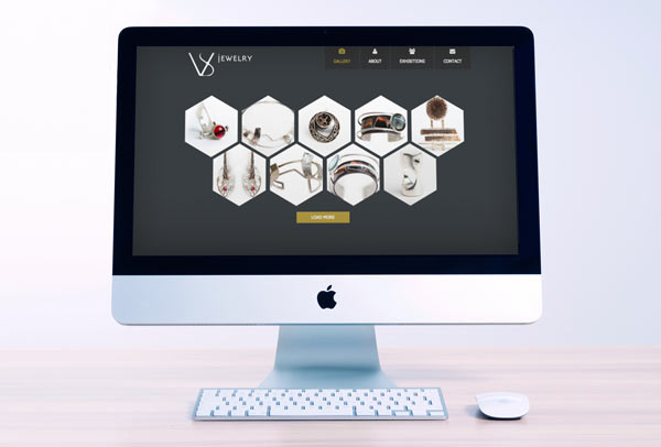 VS Jewelry Web Design & Development