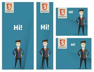 HTML5 banners design Greece