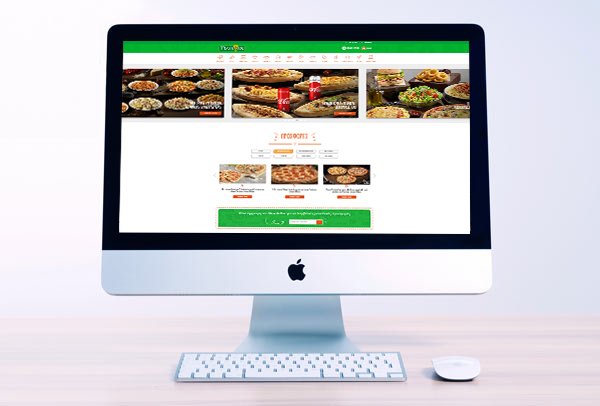 Pizza Fan Website Redesign 2018 - UI, UX